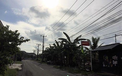 今日のバリ島のお天気♪2017年1月18日