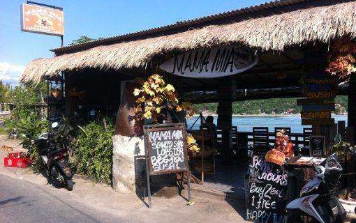 レンボンガン島のレストラン『MAMA MIA』【バリ島・観光情報】