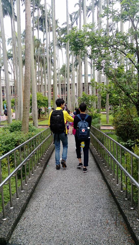 今日の台北 と 台北の高校キャンパス