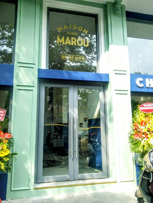 【ハノイ/カフェ】新規オープン MAISON MAROU(メゾン マルー)にいってきました♪ 新作ツアーも作りました♪