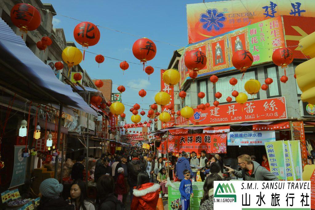 【台湾観光・イベント情報】迪化街の年貨大街