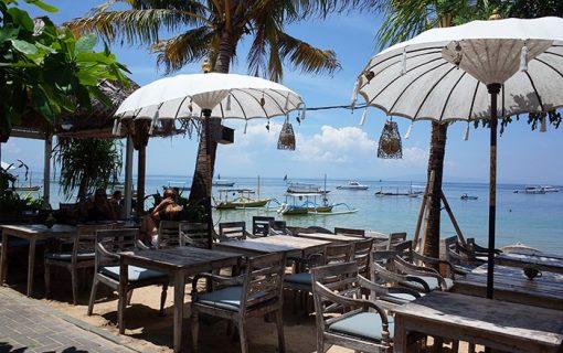 サヌールビーチ遊歩道沿いのリラックスカフェ<リラ・パンタイ>【バリ島・レストラン情報】
