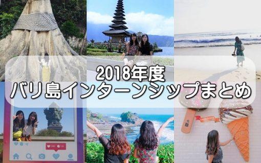 2018年度 バリ島・インターンシップ まとめ記事