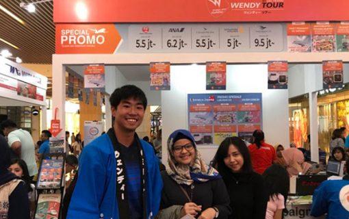 インドネシア人の訪日旅行客で賑わうジャカルタ・ジャパントラベルフェアーに潜入してきました!!【バリ島・インターンシップ情報】
