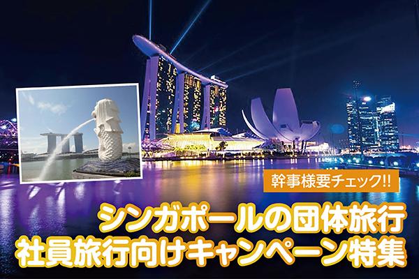 幹事様要チェック!!シンガポールの団体旅行・社員旅行向けキャンペーン特集【シンガポール・オプショナルツアー情報】
