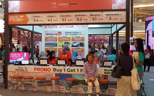 2019年3月1-3日に開催されたインドネシア人の訪日旅行客で賑わうジャカルタ・ジャパントラベルフェアー【バリ島・インターンシップ情報】