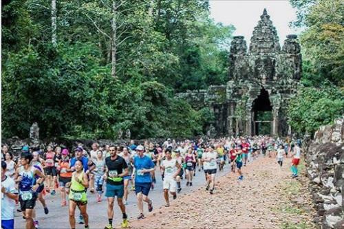 《2019年12月8日開催》世界遺産のアンコールワットを走る!!『第24回アンコールワット国際ハーフマラソン』【カンボジア・イベント情報】