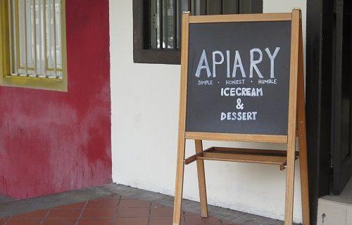 【シンガポール グルメ情報】自然素材で美味しい♡ジェラート屋さん