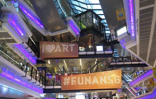 【シンガポール 買い物情報】ユニーク過ぎるショッピングセンター、オープン!