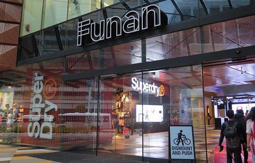 【シンガポール 買い物情報】Funanの中はこんなの。気になるお店の Flagshipも!