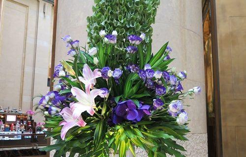 【シンガポール ホテル情報】お花がキレイ☆フラトンホテル