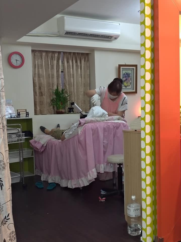 今日の台北 と 挽臉(ワンリェン)