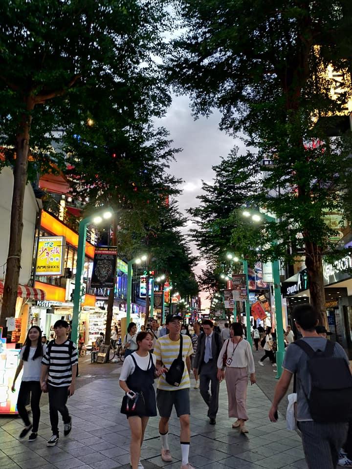 今日の台北 と 夕方の西門町