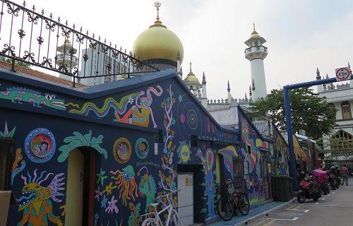 【シンガポール 観光情報】アラブ街近くのカワイイアート
