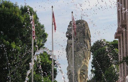 【シンガポール 観光情報】セントーサ島のマーライオンが取り壊されます…
