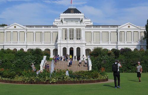 【シンガポール イベント情報】大統領官邸「イスタナ」の一般公開