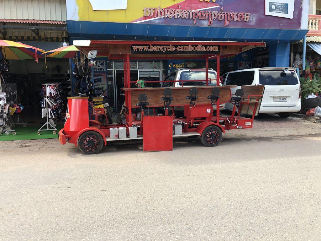【カンボジア/現地情報】BarCycle ってなに??