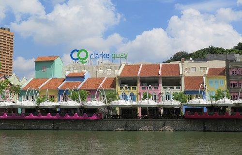 【シンガポール 観光情報】晴れた日のクラーク・キー
