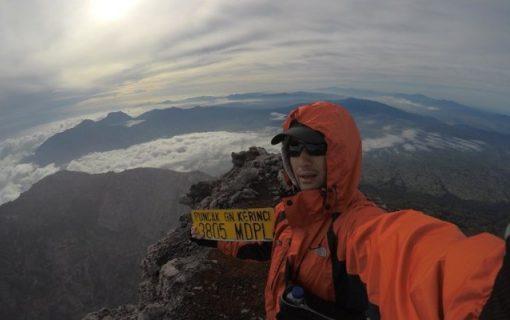 インドネシア登山・スマトラ島の最高峰クリンチ山を登ってきました!【インドネシア・ラン・登山イベント体験レポ】