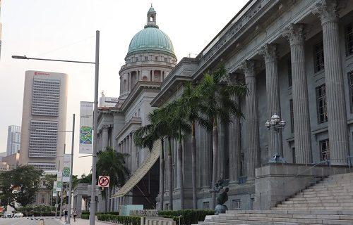 【シンガポール 観光情報】ナショナル・ギャラリーの素敵な建物