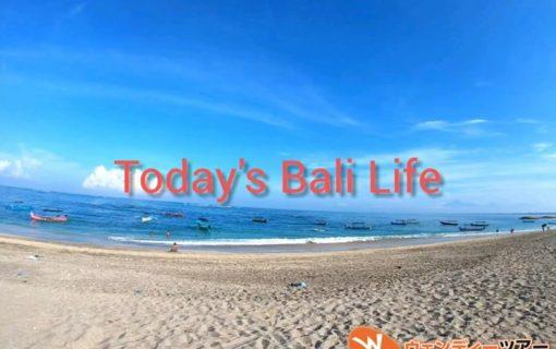【動画】のんびりしたバリ島のビーチの様子。