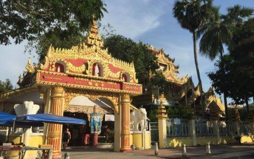 <<ペナン島>>寺院巡り Dhammikarama Burmese Buddhist Temple