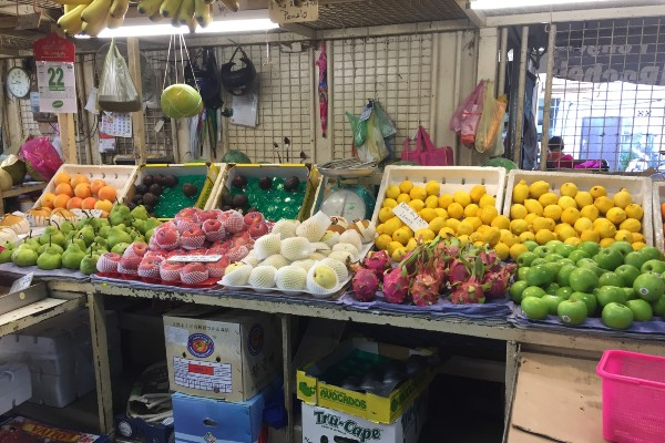 ペナン島 市場
